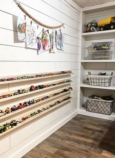50 Clever Playroom Storage Ideas You Won't Want To Miss #PlayroomSeating Playroom Seating, Kids Playroom Storage, Playroom Paint, Playroom Closet, Ikea Playroom, Small Playroom, Playroom Furniture, Playroom Organization, Playroom Design