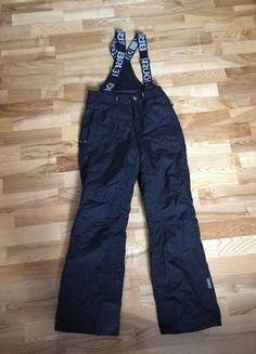 Kup mój przedmiot na #vintedpl http://www.vinted.pl/damska-odziez/odziez-sportowa/15515025-czarne-spodnie-narciarskie-z-brugi