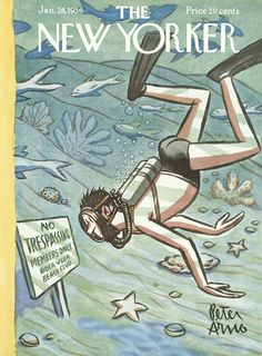 The New Yorker - Saturday, January 28, 1956 - Issue # 1615 - Vol. 31 - N° 50 - Cover by : Peter Arno