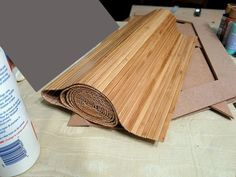Easy paneling with real life place-mats - otterine.com blog