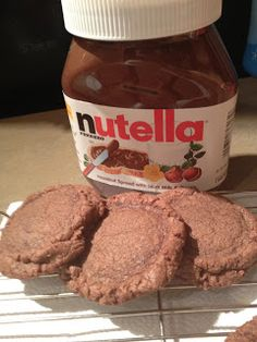 Nutella Cookies | The Blonde Can Cook