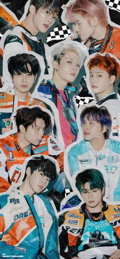 Nct 127, Night Aesthetic, Retro Aesthetic, Graphic Wallpaper, Iphone Wallpaper, Wallpaper Ideas, Nct Group, Nct Johnny, Kpop