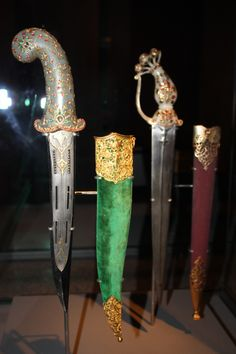 jeweled daggers the Museum of Islamic Art, Doha | venturing abroad to learn new things