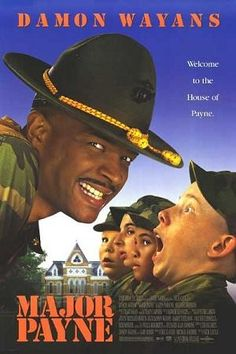 Major Payne posters for sale online. Buy Major Payne movie posters from Movie Poster Shop. We're your movie poster source for new releases and vintage movie posters. Funny Movies, Comedy Movies, Great Movies, 1990s Movies, Movies And Series, Movies And Tv Shows, Love Movie, Movie Tv, Bon Film