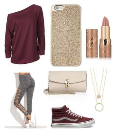 """""""Design #2"""" by destiny-mcgeough on Polyvore featuring Vans, Dolce&Gabbana, Kate Spade, Michael Kors and tarte"""