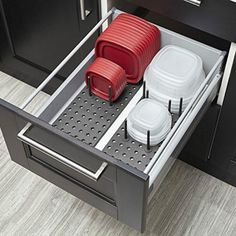Pull-Out 2-Tier Base Cabinet Cookware Organizer ($175.39). The top tier organizes all your lids, and the bottom tier features adjustable dividers to accommodate a variety of cookware sizes and brands. More info here Expandable Sink Shelf with Perforated Panel ($41.99). This sink shelf is great for organizing cleaning supplies, toiletries or any other belongings found …