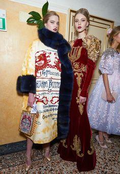 Ария высокой моды: закрытый показ Dolce & Gabbana Alta Moda весна-лето 2016 | Glamour.ru