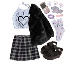 """""""cutey"""" by grimess on Polyvore"""