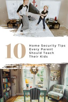 10 Home Security Tips Every Parent Should Teach Their Kids - Motherhood Defined Safety Talk, Home Security Tips, Home Tech, Home Safes, Home Alone, Kids House, Smart Home, Parenting Hacks, How To Memorize Things