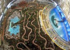 Het grootste tropische zwemparadijs ter wereld @ Krausnick, Oost-Duitsland