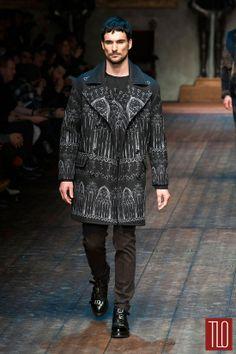 Dolce&Gabbana Fall 2014 Menswear Collection | Tom & Lorenzo Fabulous & Opinionated