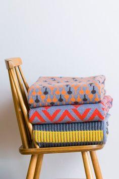 Blankets from Seven Gauge Studios RACK, CHEVRON + LOLLI