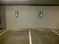 Elektrische voertuigen kunnen nu ook terecht in onze parkeergelegenheid #oplaadpunt