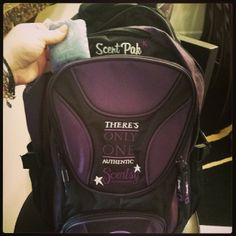 Megan L. LOVES her new Scentsy Authentic Seal Backpack. We know you will too!  Which Scentsy Scent Pak would you pop into the backpack's special Scent Pak holder?