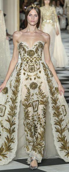 Zuhair Murad Fall-winter - Couture - Dress to Impress - Beautiful Gowns, Beautiful Outfits, Couture Dresses, Fashion Dresses, High Fashion, Fashion Show, Fashion Blogs, Fashion Week, Gothic Fashion