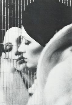 Dreaming of you, my Love.... vivipiuomeno: Donna Mitchell by David Bailey, 1970's