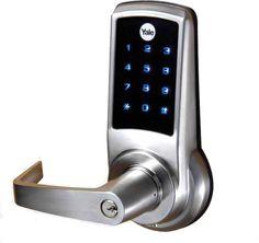 Cerradura electrónica Yale para casa u oficina, y olvídate de las llaves.