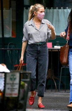 Gucci Brixton Loafer, Gucci Loafers, J Brand Jeans, Jeans Brands, Timeless Fashion, High Fashion, Preppy Style, My Style, Sienna Miller
