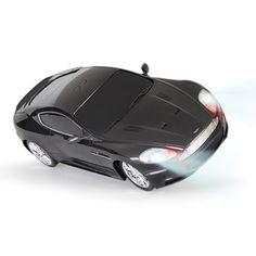 The James Bond Remote Controlled Stunt Car - Hammacher Schlemmer