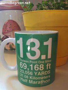 Runners Coffee Mug #GoneForARun