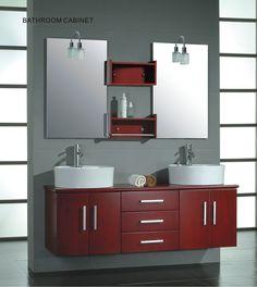 Cambridge 59 inch Solid Wood Double Bathroom Vanity