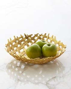 Palm Centerpiece Bowl by Michael Aram at Horchow. Fruit Holder, Serving Utensils, Diy Canvas Art, Afternoon Snacks, Day Use, Kitchen Dining, Dining Rooms, Kitchen Decor, Metal Working
