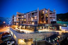 Family friendly, contemporary apartment hotel in premium location. Image: QT Falls Creek
