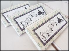 homemade party favors, printable candy bar wrappers, piano candy bar wrappers