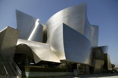 Frank Gehry's Walt Disney Concert Hall, Los Angeles #Architecture