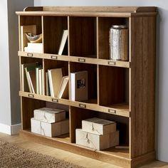 Beachcrest Home Bowerbank Cube Unit Bookcase Finish: Scribed Oak Cube Bookcase, Etagere Bookcase, Bookcases, Leicester, Cube Storage, Storage Spaces, Record Storage, Diy Home Decor, Room Decor