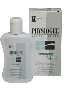 Physiogel® Shampoo Plus- Apply to wet hair. Work in and then rinse thoroughly.    Minimal foam produced for better tolerance.    Daily use.    Advantages  - Hypoallergenic  - Combines 3 mild surfactants, gentle on the skin and scalp  - Contains a conditioning agent and provitamin B5 for easy untangling and glossy, soft hair with volume  - No fragrances, parabens, colorings or phenoxyethanol