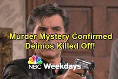 Days of Our Lives Spoilers: Shocking Murder Hits Salem – Deimos Killed Off in Exciting Whodunit Storyline | Celeb Dirty Laundry