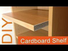 2. DIY How to make a Cardboard Shelf (2nd way) - YouTube