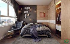 50 modern and stylish scandinavian bedroom decor ideas for teenage (40)