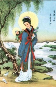 Japanese image of Madonna and Child
