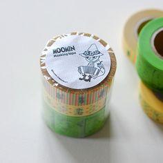 【レビュー記入で10%OFF】ムーミンシリーズ スナフキンマスキングテープ3巻セット【楽天市場】