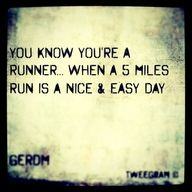 Or 9 miles, hills, and strides is your easy day the day before your first cross meet. (but we won the meet anyway :)