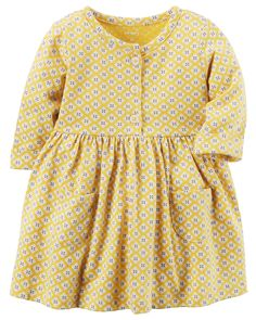 Baby Girl Jersey Dress | Carters.com $12.00