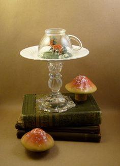 tea cup diorama!