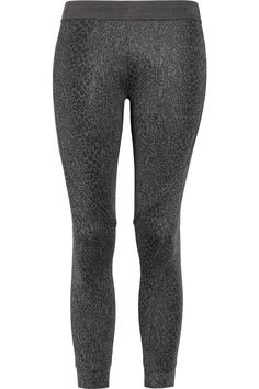 Animal Print Stella McCartney for Adidas running leggings, I like.