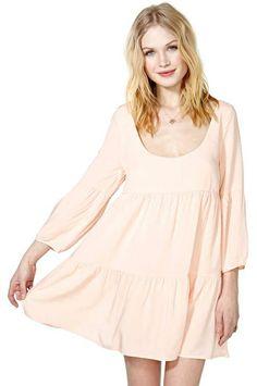 c4ec381e04 Nasty Gal Sweet Tart Babydoll Dress