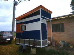 Primeira Tihy House Brasileira. FGH no reboque, quase pronto para viagem. Muito Obrigado.