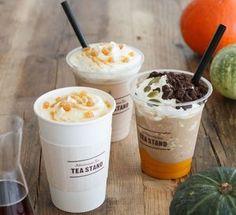 こっくり甘いかぼちゃのドリンク「パンプキン&ブラウニー フローズンラティー」--アフタヌーンティーで