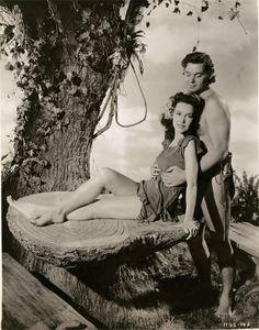 Tarzan - Johnny Weismuller and Maureen O'Sullivan, 1941