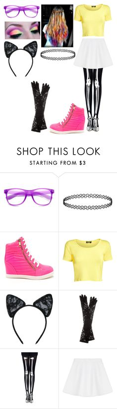 """""""Rave Party"""" by madeinchina03 ❤ liked on Polyvore featuring Pilot, Maison Close, Dolce&Gabbana and RED Valentino"""