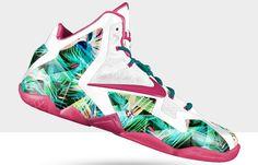 "Nike LeBron 11 ""Everglades"" iD"