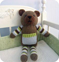 Pocket Bear Knit Pattern