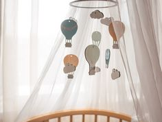 Hey, I found this really awesome Etsy listing at https://www.etsy.com/listing/449194430/wooden-baby-mobile-hot-air-ballons