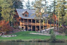 Upper Michigan Lakehouse - Recreational Log Home Site for Michigan