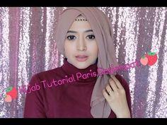 #64 Hijab Tutorial Paris Segiempat (Semi Formal) - Natasha Farani - YouTube